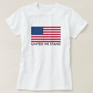 Camiseta Unido nós estamos a bandeira