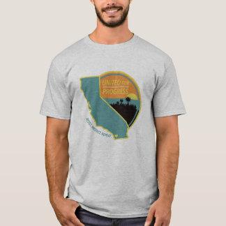 Camiseta Unido para o progresso - t-shirt das cinzas dos