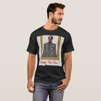 Camiseta Uniform Officer Sordier, Grey, - with YOUR Photo -