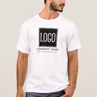 Camiseta Uniforme do logotipo do negócio de propaganda