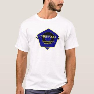 Camiseta Uniforme do oficial da polícia do Cyber