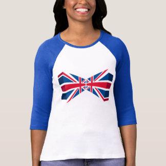 Camiseta Union Jack dobro, bandeira britânica em 3D