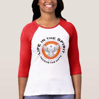 Camiseta Unisex receba os presentes gráficos