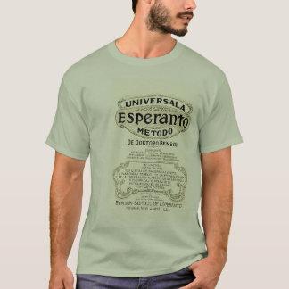 Camiseta Universala Esperanto Metodo de Doktoro Benson