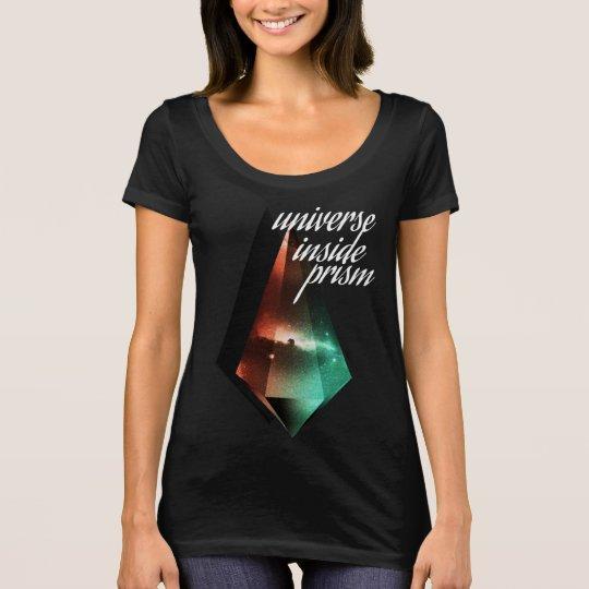Camiseta Universe inside prism