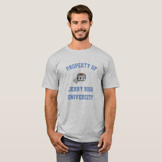 Camiseta Universidade de Jerry Rigg
