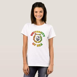 Camiseta Universidade de senhoras de Ska Jamaica