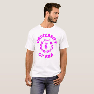 Camiseta Universidade do rosa de Ska Bristol