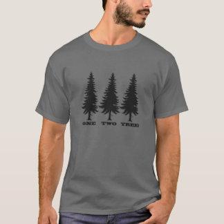 Camiseta Uns, dois, árvore