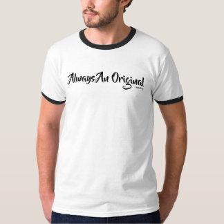 Camiseta Uns homens originais Short o t-shirt da luva