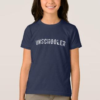 Camiseta Unschooler afligiu a pia batismal