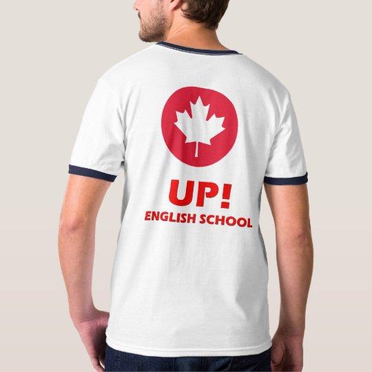 Camiseta Up English school