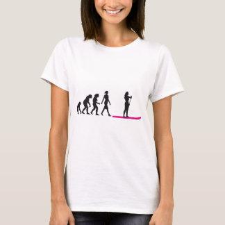 Camiseta Up Paddling evolution estou
