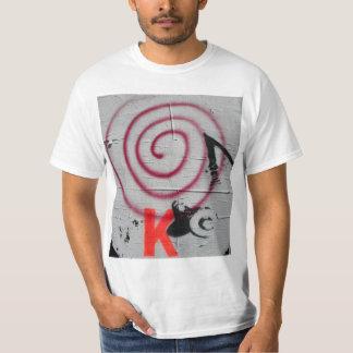 camiseta urbana da arte da rua dos Bull-olhos