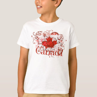 Camiseta Urbano sujo do dia de Canadá