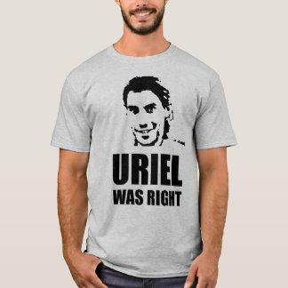 Camiseta Uriel era direito