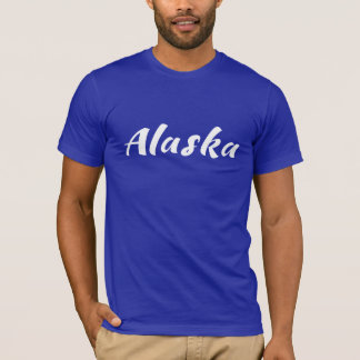 Camiseta Urso (AK) marrom do Kodiak de Alaska - logotipo