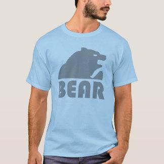 Camiseta Urso alegre do urso cinzento
