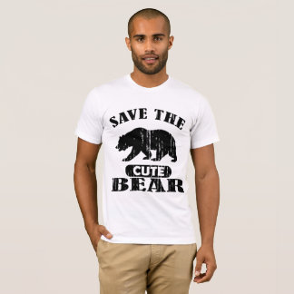 Camiseta urso bonito