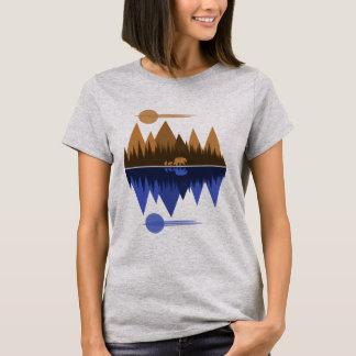 Camiseta Urso & Cubs (Sepia/azul)