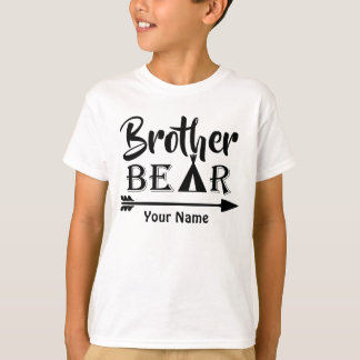 Camiseta Urso da seta do big brother personalizado