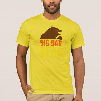 Camiseta Urso de Brown mau grande do urso