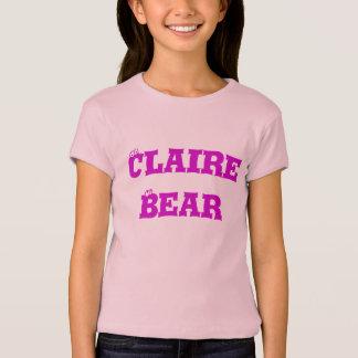 Camiseta Urso de Claire