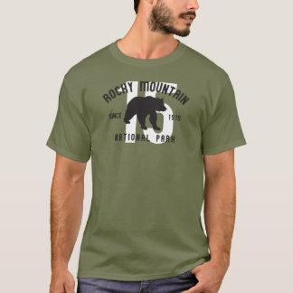 Camiseta Urso de Colorado do parque nacional de montanha