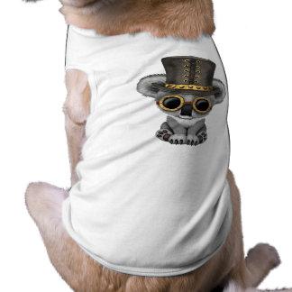 Camiseta Urso de Koala bonito do bebê de Steampunk