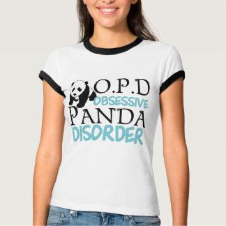 Camiseta Urso de panda bonito
