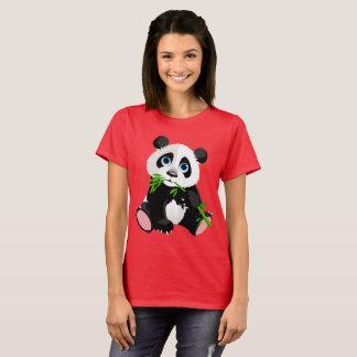 Camiseta Urso de panda dos desenhos animados