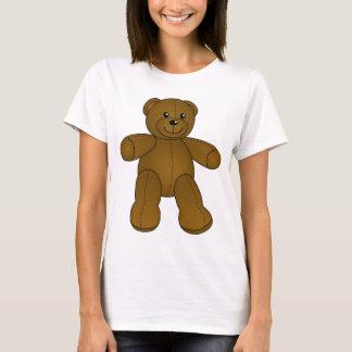 Camiseta Urso de ursinho marrom bonito