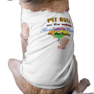 Camiseta Urso de ursinho na camisa interna do animal de est