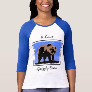 Camiseta Urso de urso no inverno