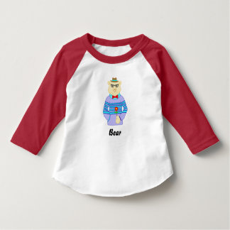 Camiseta urso do geek