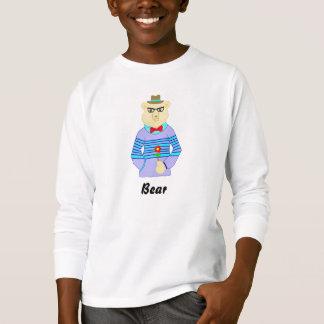 Camiseta urso do geek