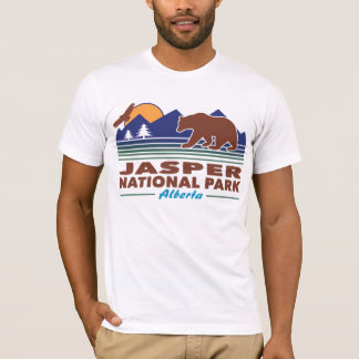 Camiseta Urso do parque nacional de jaspe