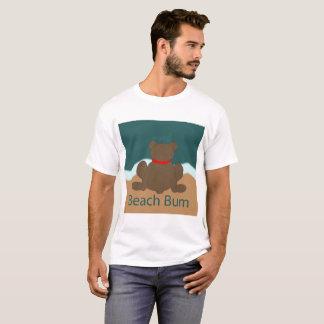 Camiseta Urso do vagabundo da praia