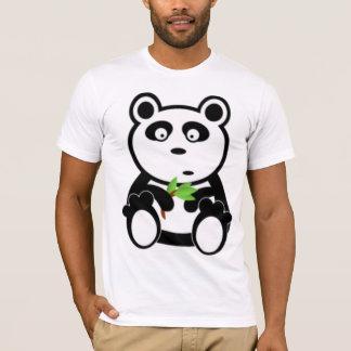 Camiseta Urso e bambu de panda