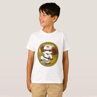 Camiseta Urso engraçado bonito de Cheburashka dos desenhos