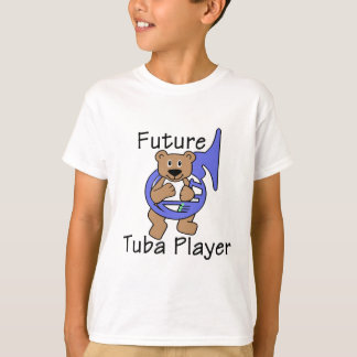 Camiseta Urso futuro do jogador da tuba