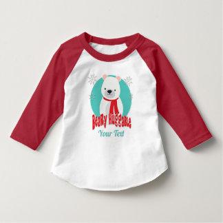 Camiseta Urso Huggable do Natal do inverno de Beary