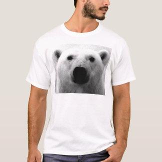 Camiseta Urso polar preto & branco