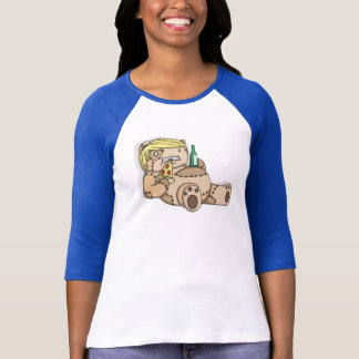 Camiseta Urso preguiçoso