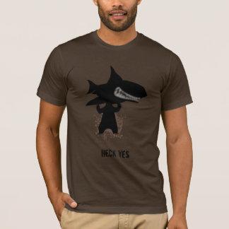 Camiseta Urso que guardara um tubarão
