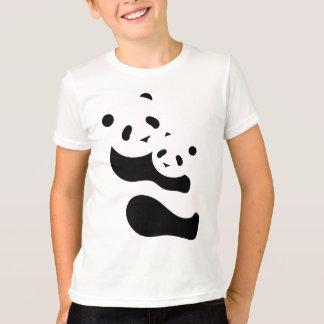Camiseta Ursos de panda preciosos