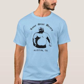 Camiseta Ursos solitários da estrela - logotipo