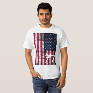 Camiseta usa welcome 1977