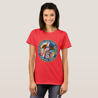 Camiseta USCG Miami-Dade auxiliar Florida