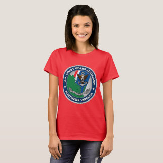 Camiseta USCG Virgínia norte auxiliar